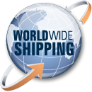 Worldwide Shipping and Delivery.