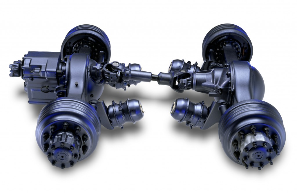 Fabco differential, Fabco steer axle and drive axle.